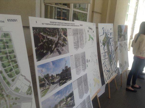 На конкурсі проекту з облаштування громадського простору пам'яті Небесної сотні було представлено лише 6 робіт (ФОТО), фото-5