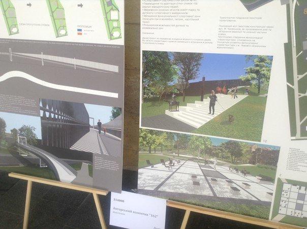 На конкурсі проекту з облаштування громадського простору пам'яті Небесної сотні було представлено лише 6 робіт (ФОТО), фото-3