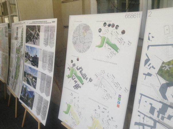 На конкурсі проекту з облаштування громадського простору пам'яті Небесної сотні було представлено лише 6 робіт (ФОТО), фото-7