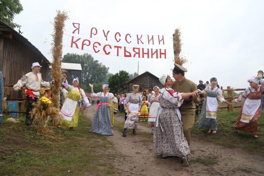 Под Волоконовкой прошла неофициальная деревенская олимпиада «Я — русский крестьянин», фото-6