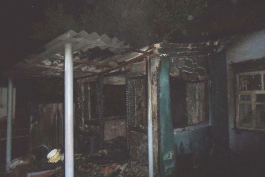 На Сумщине заживо сгорел пьяный мужчина (ФОТО), фото-1