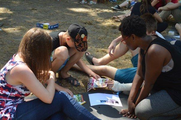 Школьники из Сум неделю жили в англоязычном лагере (ФОТО), фото-5