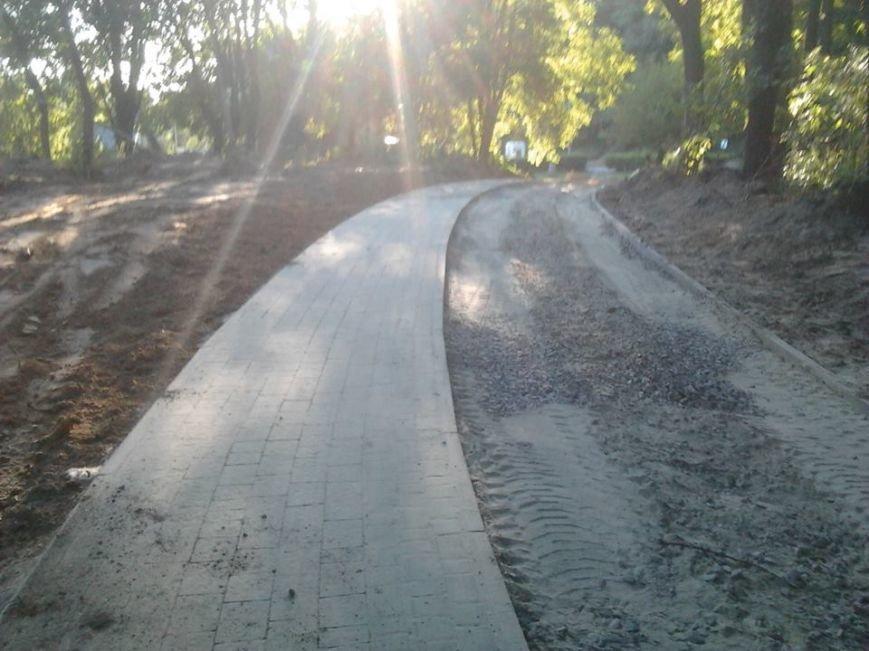 До 15 серпня у парку «Знесіння» облаштують велодоріжку (ФОТО), фото-2