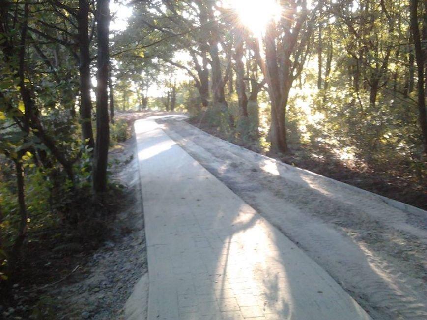 До 15 серпня у парку «Знесіння» облаштують велодоріжку (ФОТО), фото-4