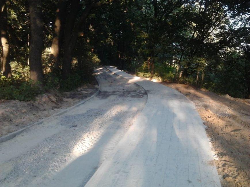 До 15 серпня у парку «Знесіння» облаштують велодоріжку (ФОТО), фото-1
