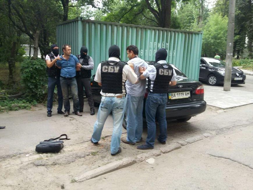 На Кировоградщине СБУ за предложение взятки следователю прокуратуры задержала двух человек (фото, видео задержания), фото-5