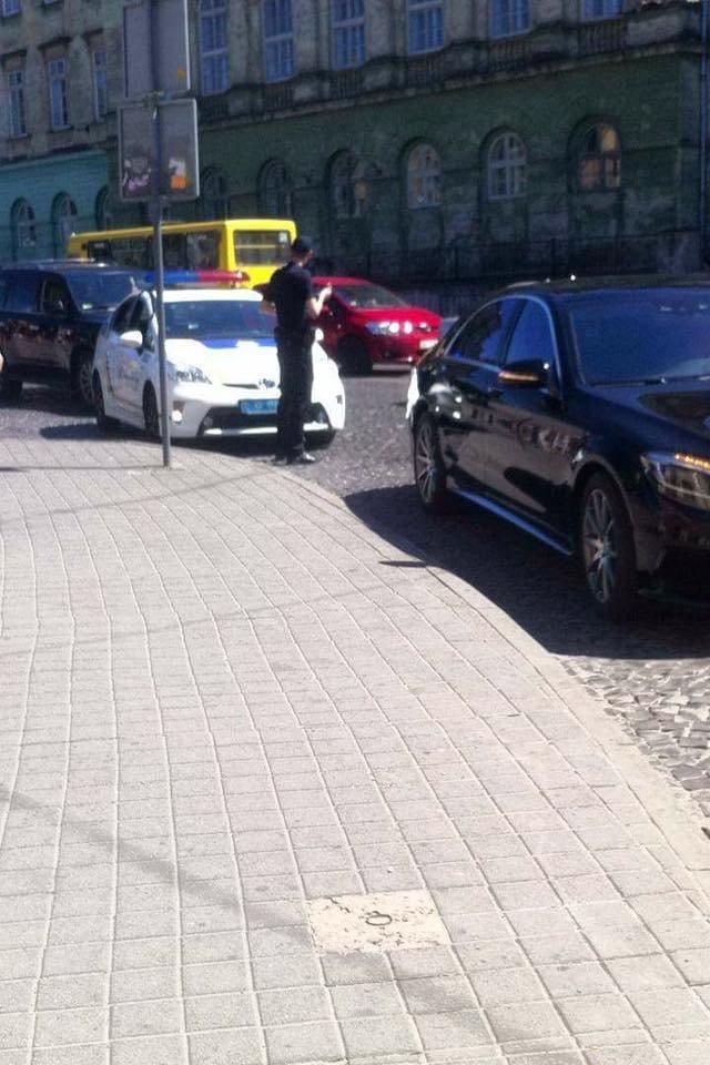 Львівські патрульні оштрафували президента ФК «Карпати» (ФОТО), фото-1
