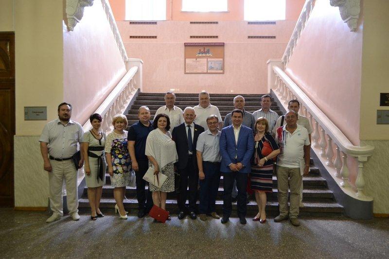 Бердянский педуниверситет стал местом встречи ректоров, фото-8