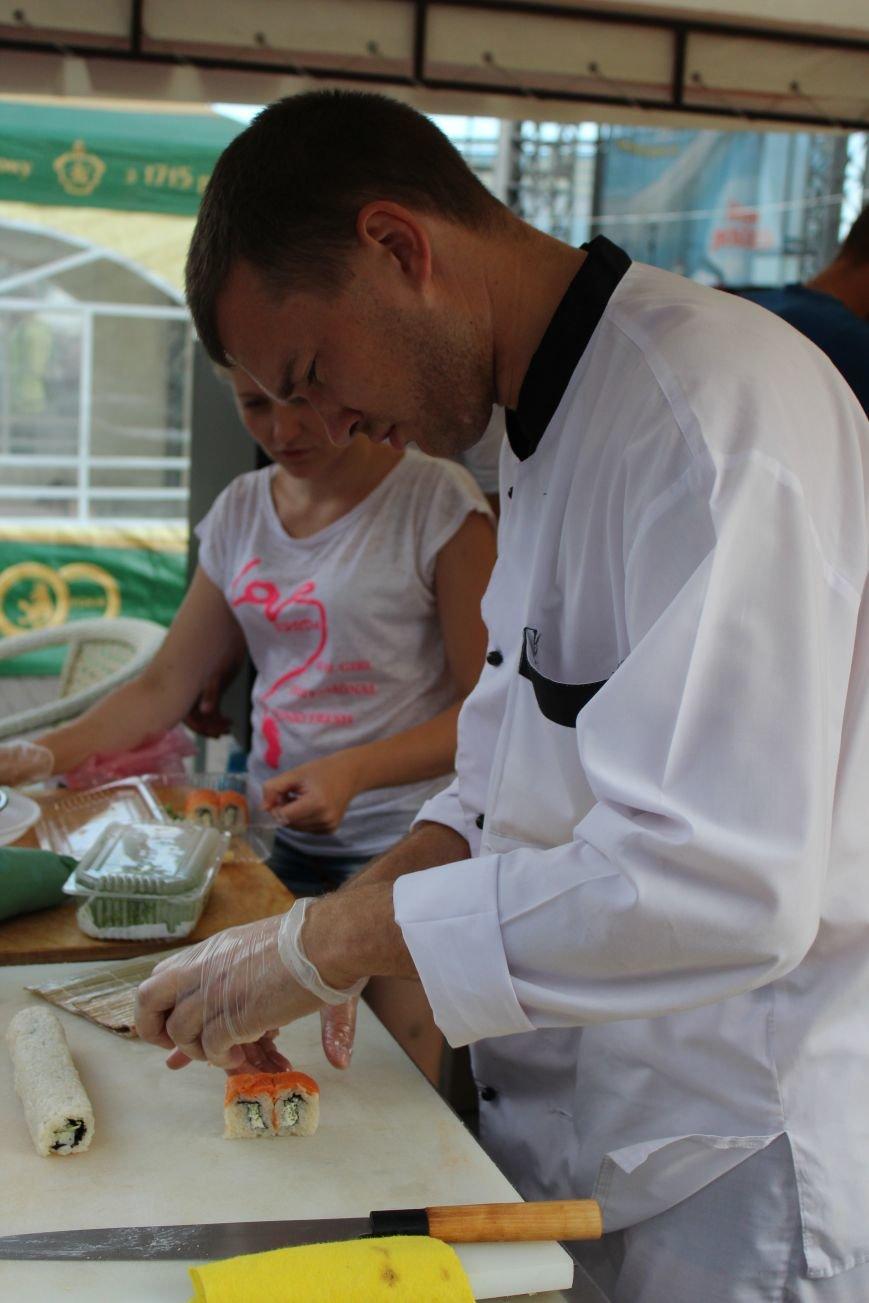 Первый фестиваль уличной еды в Бердянске, фото-4