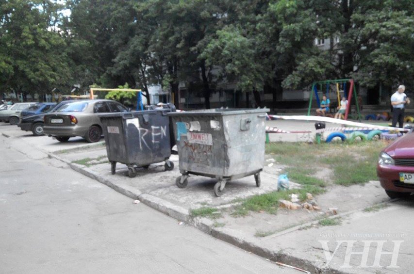 В Запорожье в мусорном баке нашли тело младенца (ФОТО), фото-2