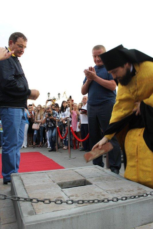 На набережной Ростова заложили первый камень часовни «Южные врата России», фото-1