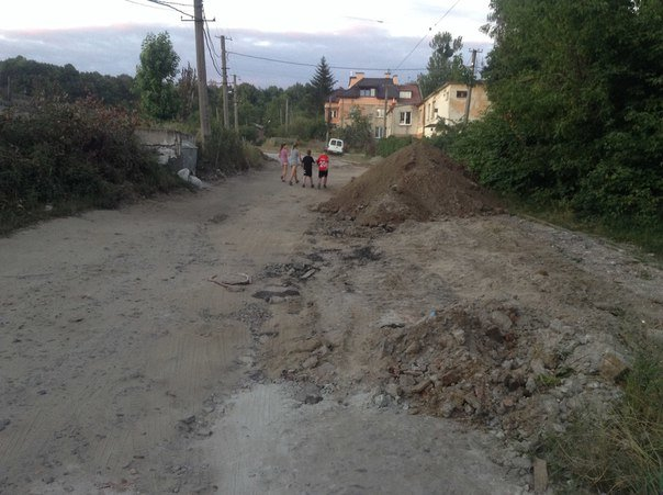 Як у Львові тривають ремонтні роботи на вулиці Татарбунарській (ФОТО), фото-2