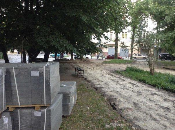 На вулиці Японській розпочали облаштовувати громадський простір (ФОТО), фото-4