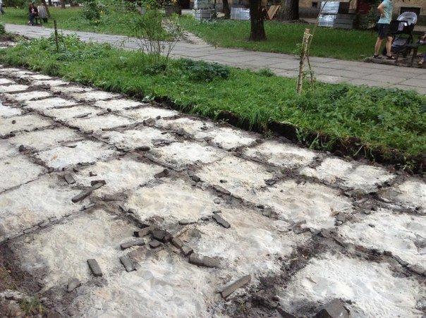 На вулиці Японській розпочали облаштовувати громадський простір (ФОТО), фото-3