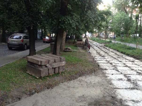 На вулиці Японській розпочали облаштовувати громадський простір (ФОТО), фото-6