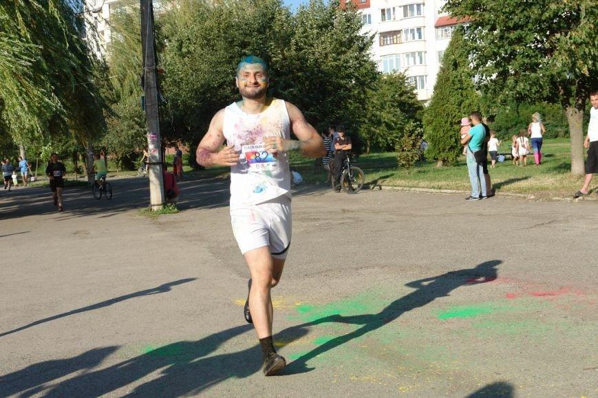 Учасники кольорового забігу утворили в повітрі український стяг. Фотозвіт з події, фото-12