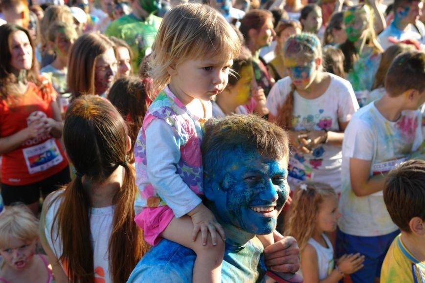 Учасники кольорового забігу утворили в повітрі український стяг. Фотозвіт з події, фото-10