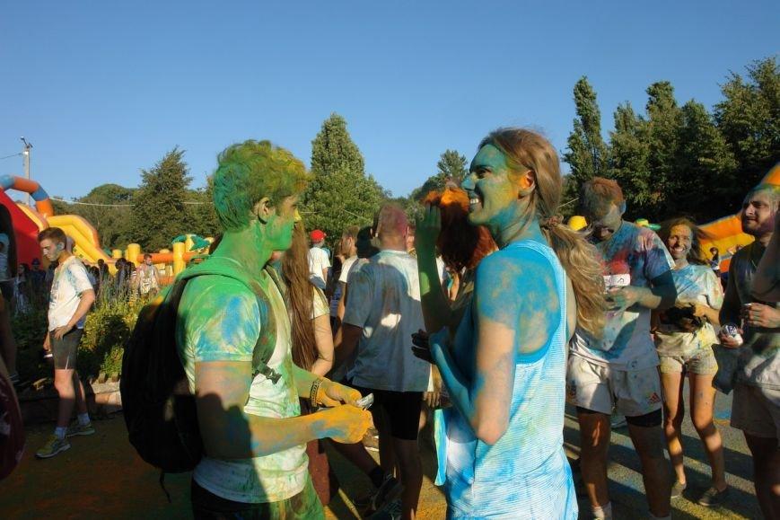 Учасники кольорового забігу утворили в повітрі український стяг. Фотозвіт з події, фото-7