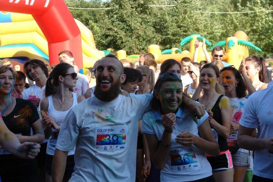 Учасники кольорового забігу утворили в повітрі український стяг. Фотозвіт з події, фото-11