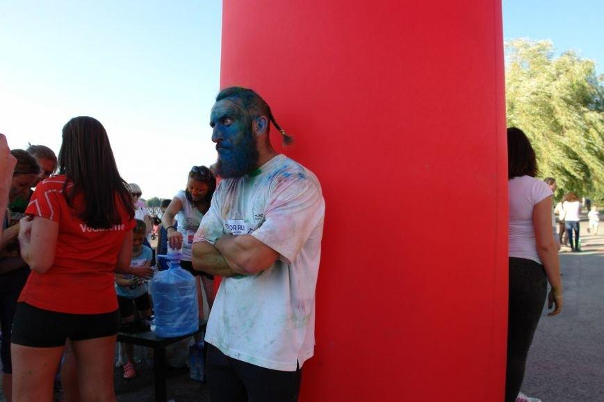 Учасники кольорового забігу утворили в повітрі український стяг. Фотозвіт з події, фото-4