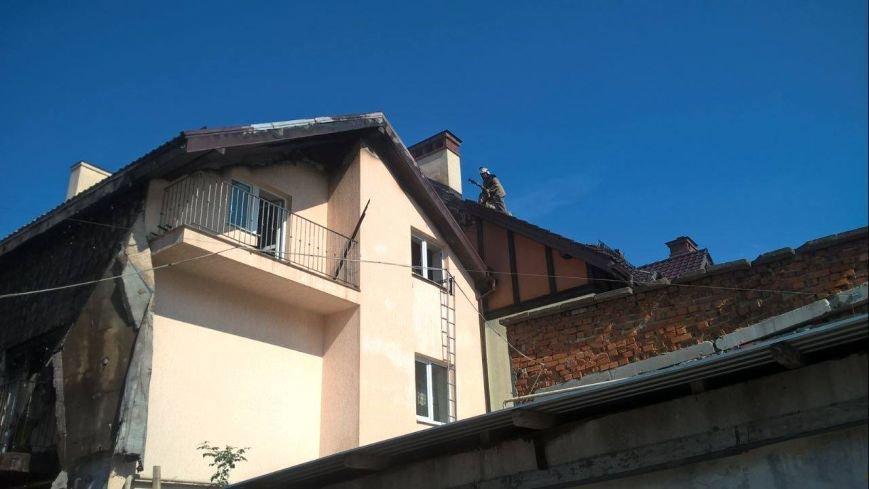 У Стрию горів трьохповерховий житловий будинок (ФОТО), фото-5