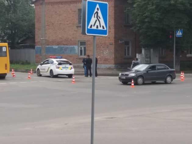 Сумские патрульные снова попали в ДТП (ФОТО), фото-2
