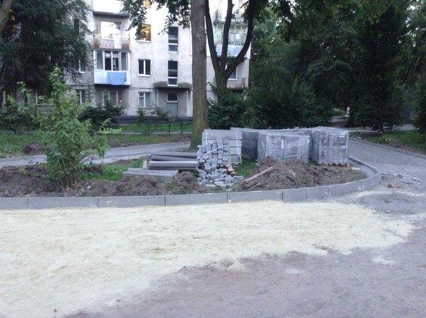 Як у Львові облаштовують сквер на вулиці Ряшівській (ФОТО), фото-3
