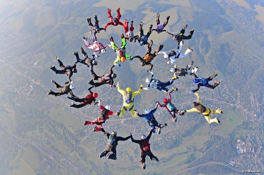 Прыжки с парашютом: харьковские спортсмены установили новый рекорд Украины (ФОТО), фото-1