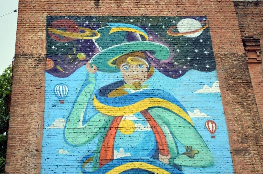 В центре Запорожья нарисовали большого волшебника (ФОТО), фото-4