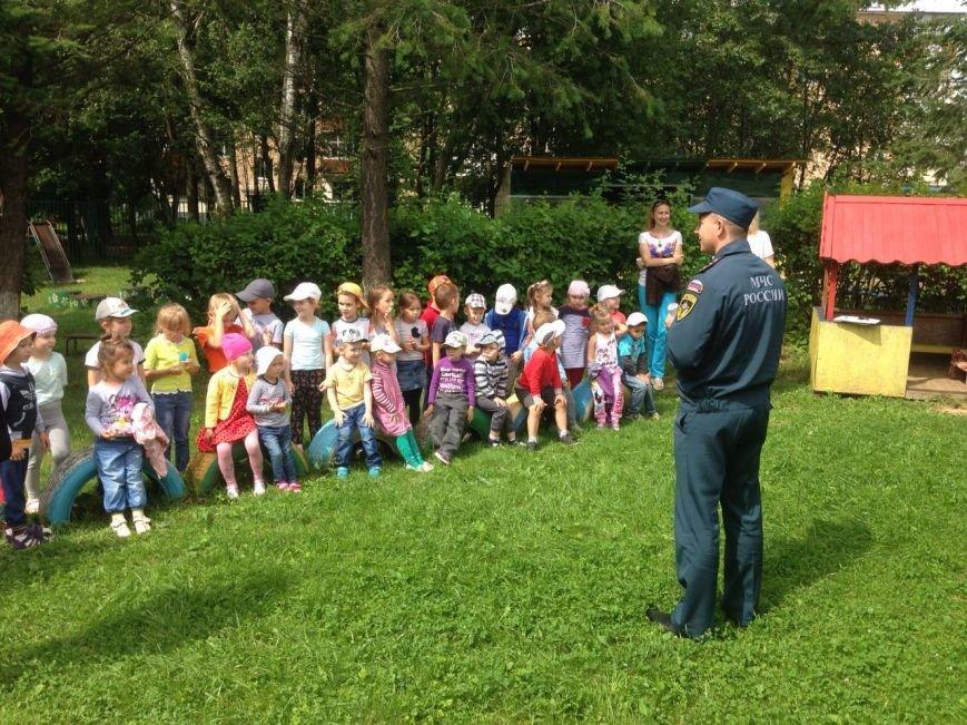 В детском саду Новофёдоровского поселения ТиНАО прошёл урок мужества, фото-1