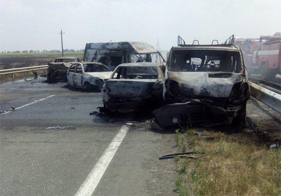 На Кировоградщине произошло ужасное ДТП, погибли трое людей, фото-1