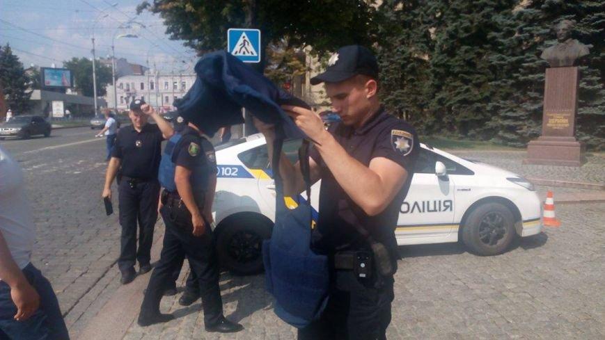В Харьковской ОГА ищут бомбу (ФОТО), фото-3