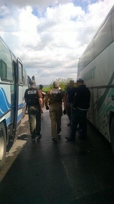 СБУ перекрыла незаконные автобусные перевозки по маршруту Луганск-Одесса (ФОТО), фото-1