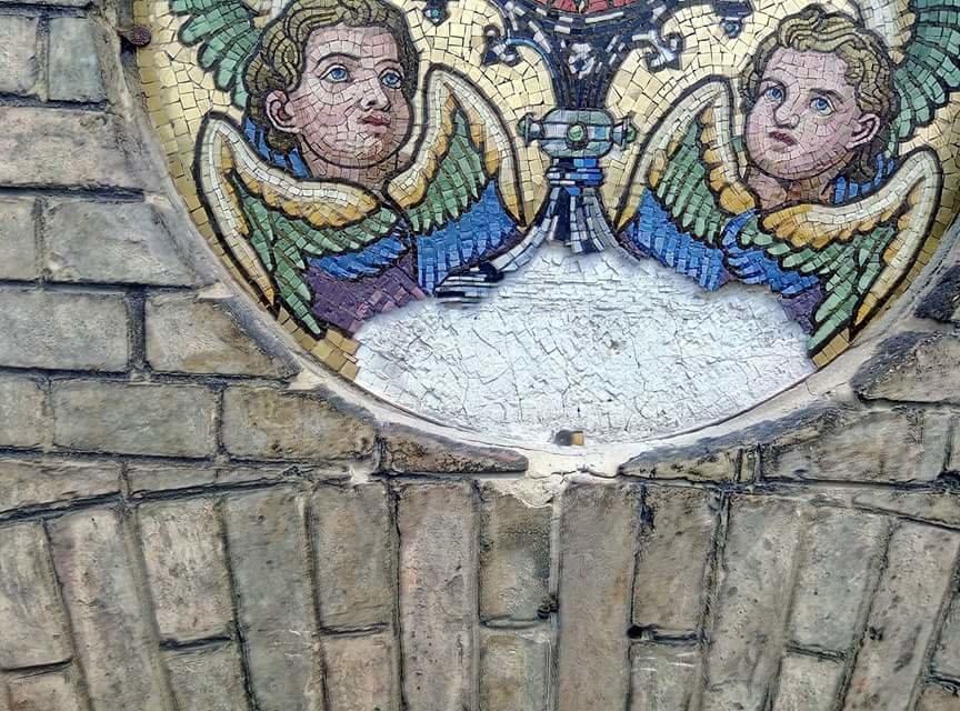 У Львові на фасаді храму святого Іоана Золотоустого відреставрували старовинну мозаїку (ФОТО), фото-3