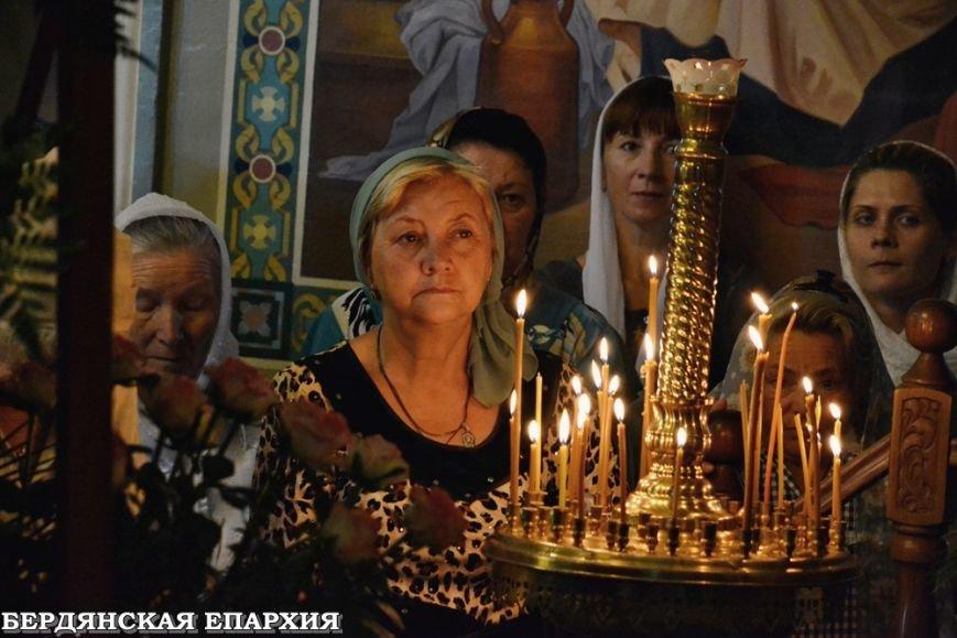 В кафедральном соборе Бердянска прошло праздничное богослужение, фото-5