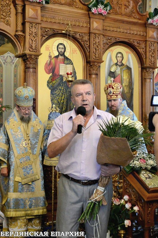 В кафедральном соборе Бердянска прошло праздничное богослужение, фото-7
