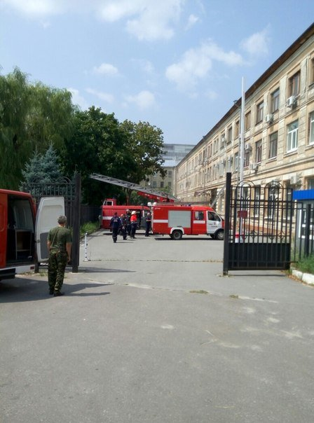 В Харькове горел апелляционный суд (ФОТО), фото-1