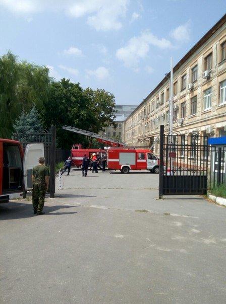 В Харькове горел апелляционный суд (ФОТО), фото-3