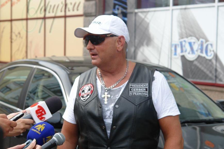 До Івано-Франківська завітали учасники всеукраїнського мотопробігу. Фото, фото-3