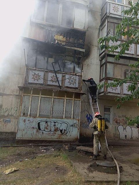 В Черноморске сгорела квартира (фото), фото-1