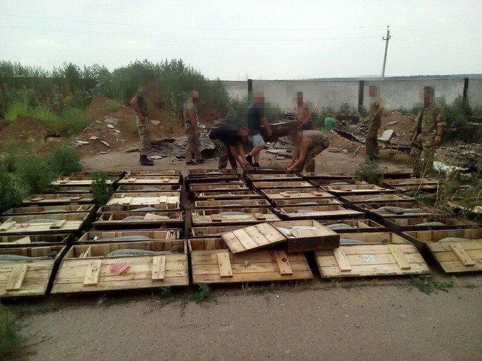 В Донецкой области нашли тайник со 116 минами (ФОТО), фото-1