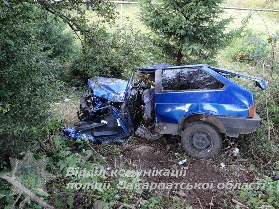 Жахливе ДТП на Закарпатті - водій у реанімації, пасажир помер: фото, фото-2