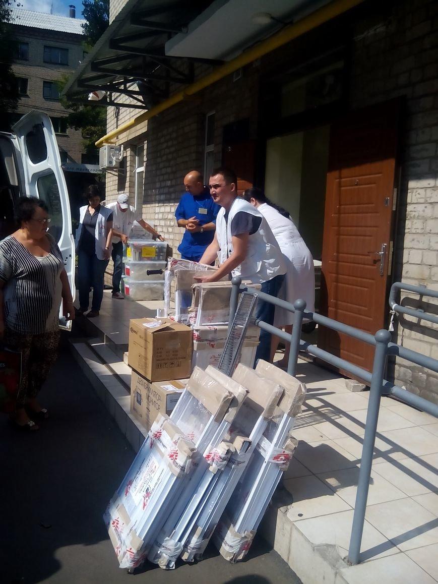 «Врачи без границ» оказали помощь Бахмутской ЦРБ, фото-4