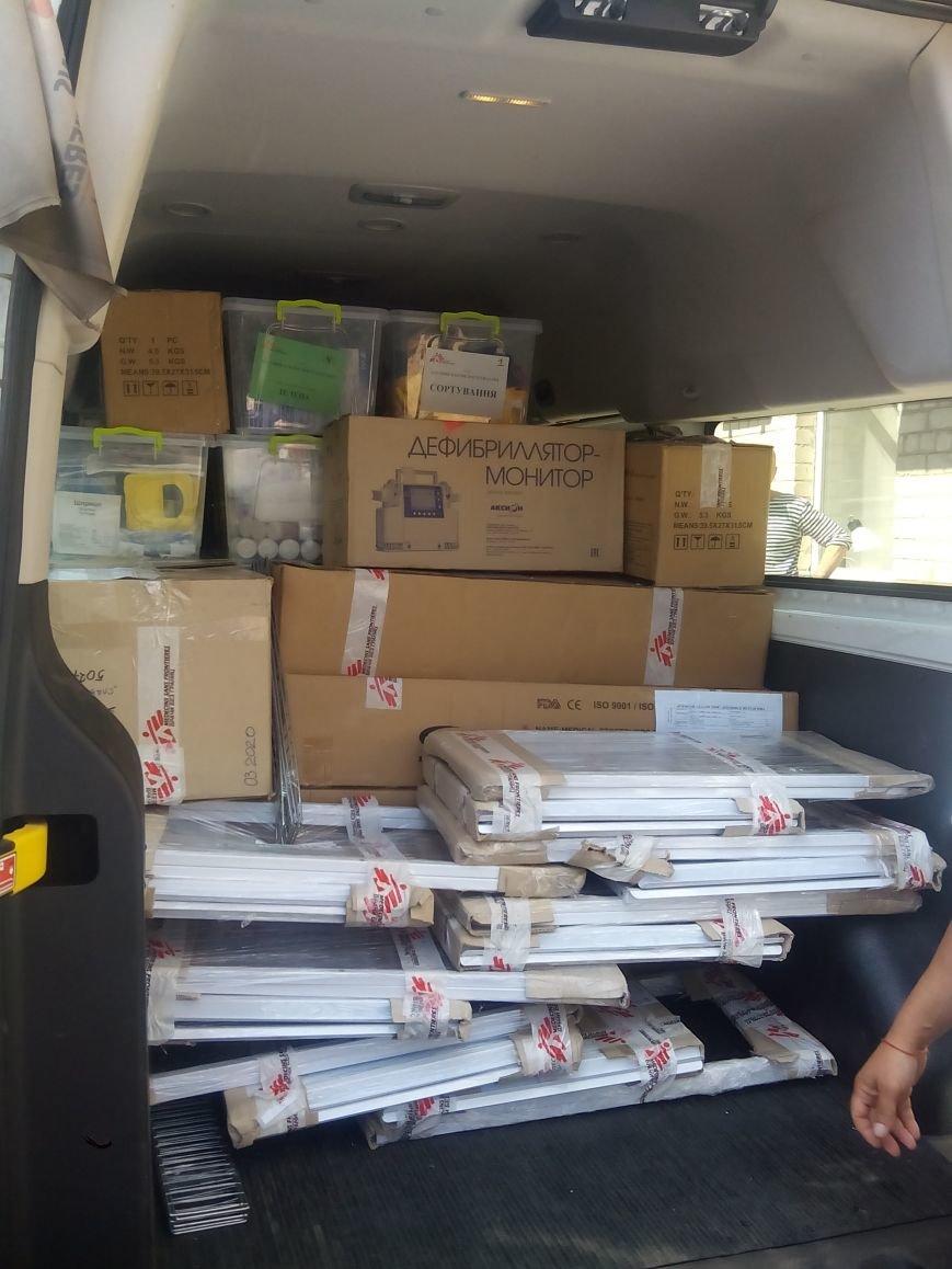«Врачи без границ» оказали помощь Бахмутской ЦРБ, фото-2