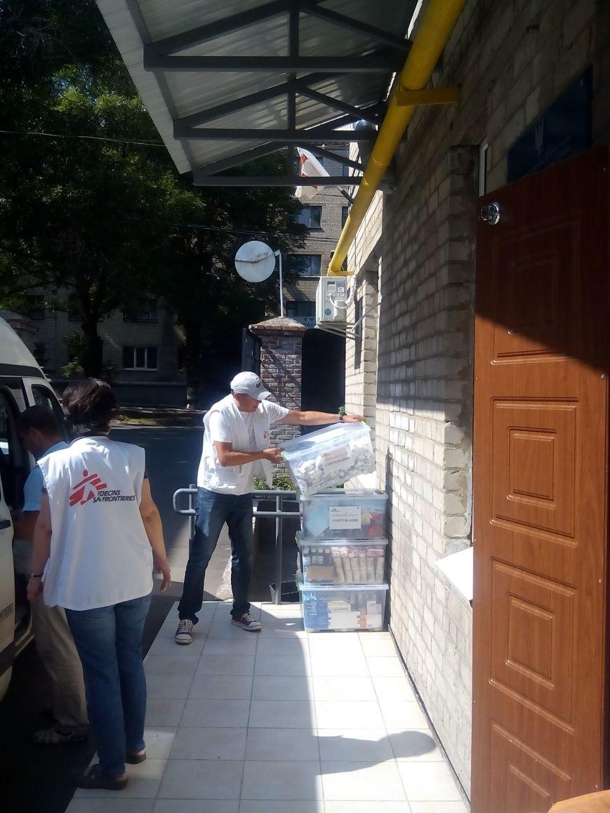 «Врачи без границ» оказали помощь Бахмутской ЦРБ, фото-3