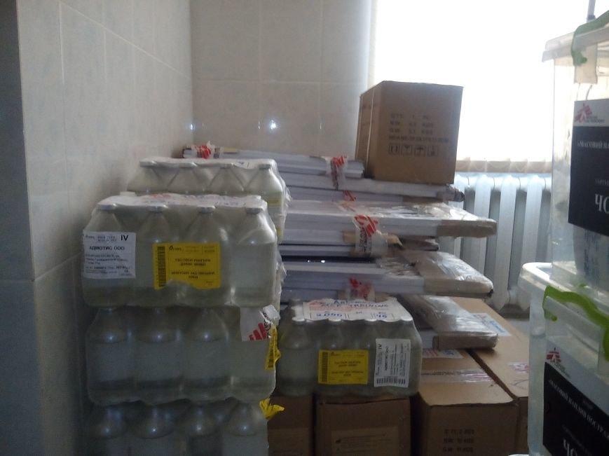«Врачи без границ» оказали помощь Бахмутской ЦРБ, фото-8