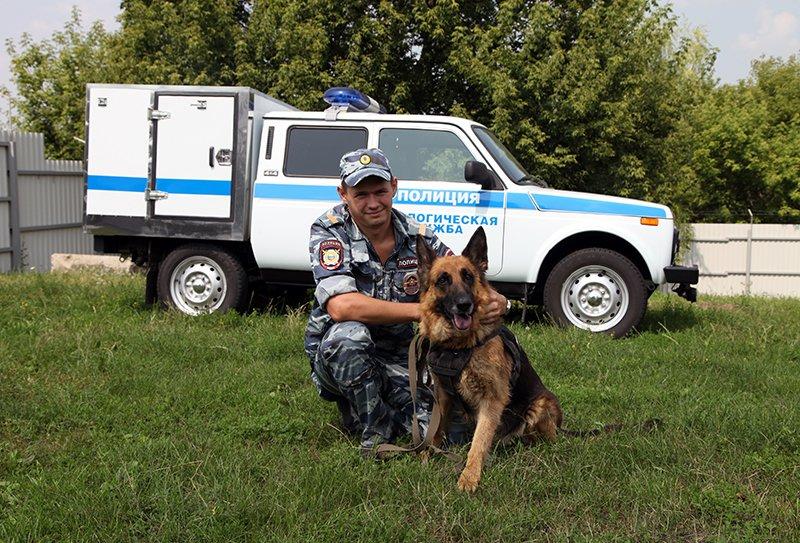 Под Белгородом полицейская собака предотвратила самоубийство, фото-1