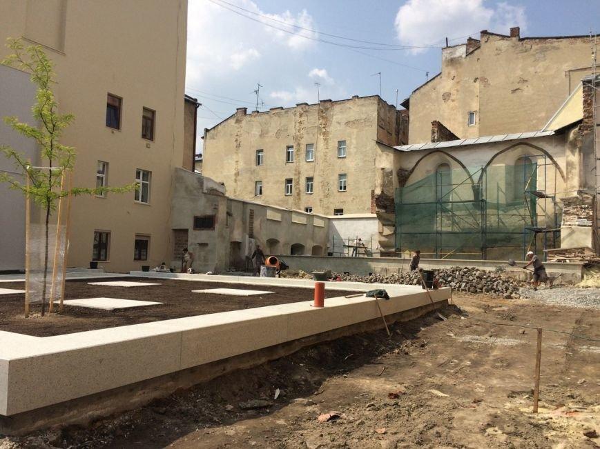 У єврейському кварталі Львова висадили перші дерева (ФОТО), фото-1