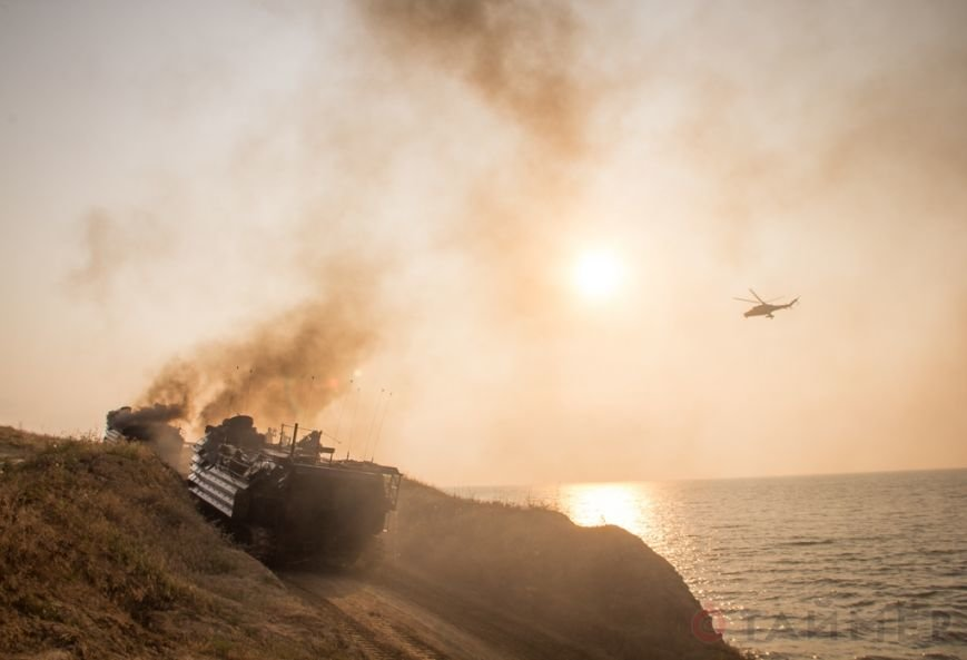 Морпехи США десантировались на побережье в Одесской области (фото), фото-1