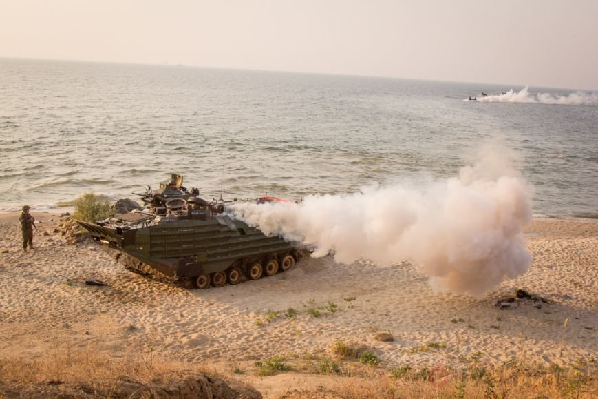 Морпехи США десантировались на побережье в Одесской области (фото), фото-2